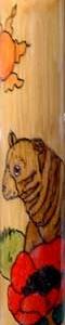 'Bear' Wooden Flute.
